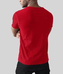 V-Neck T-Shirt | Red