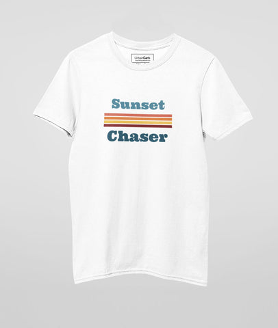 Sunset Chaser Graphic Cotton T-Shirt |