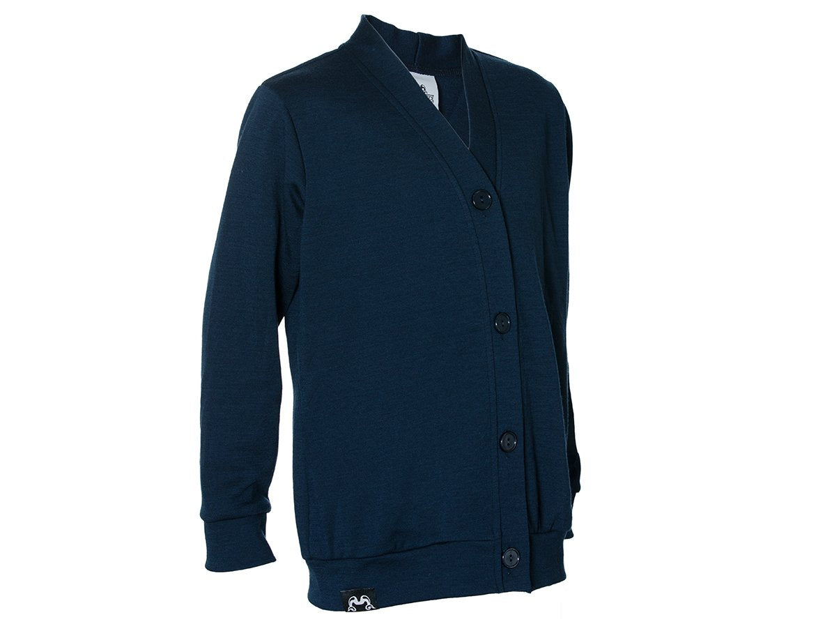 True Fleece merino wool kids' cardigan