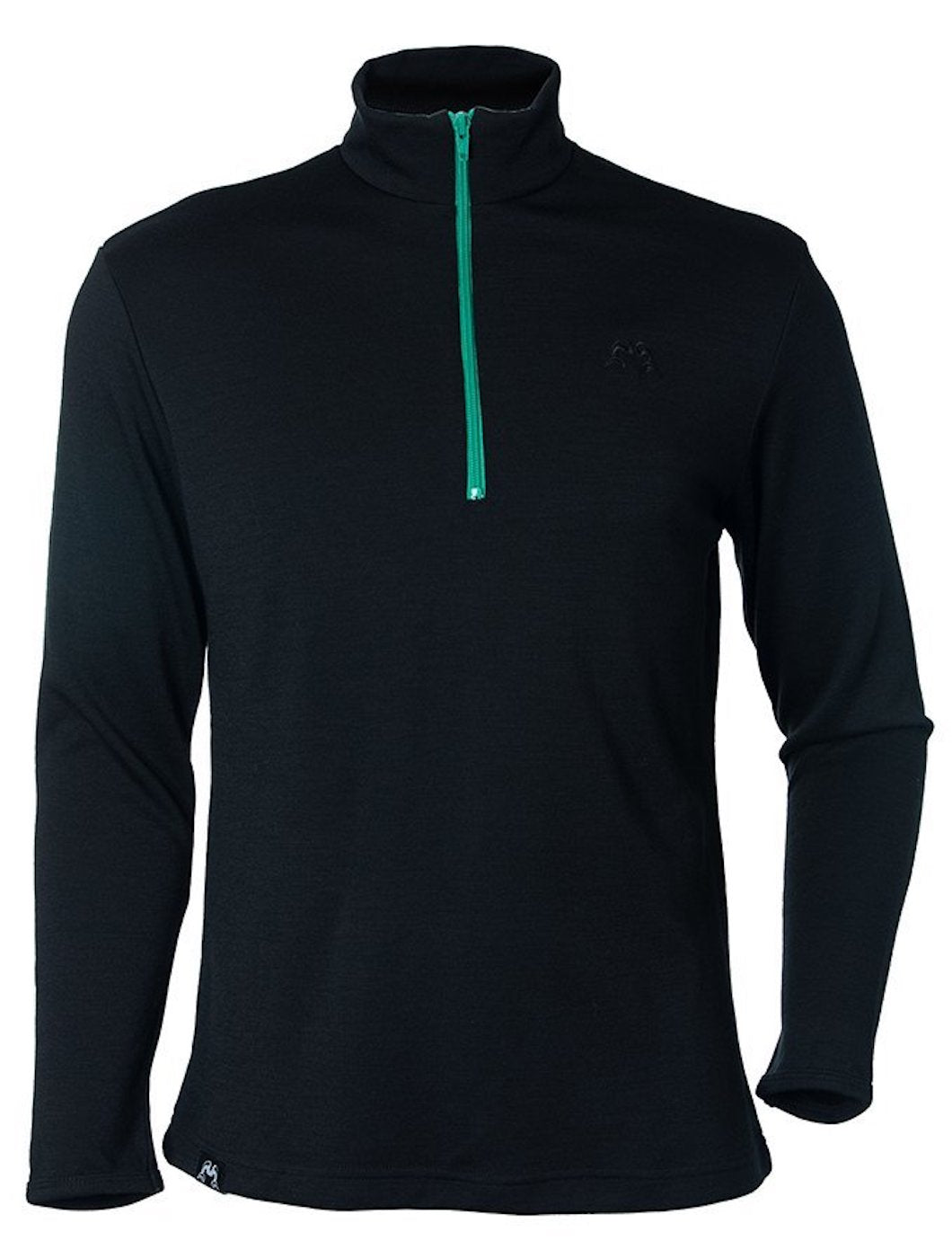 True Fleece Men's merino wool  300 Coast quarter zip jersey