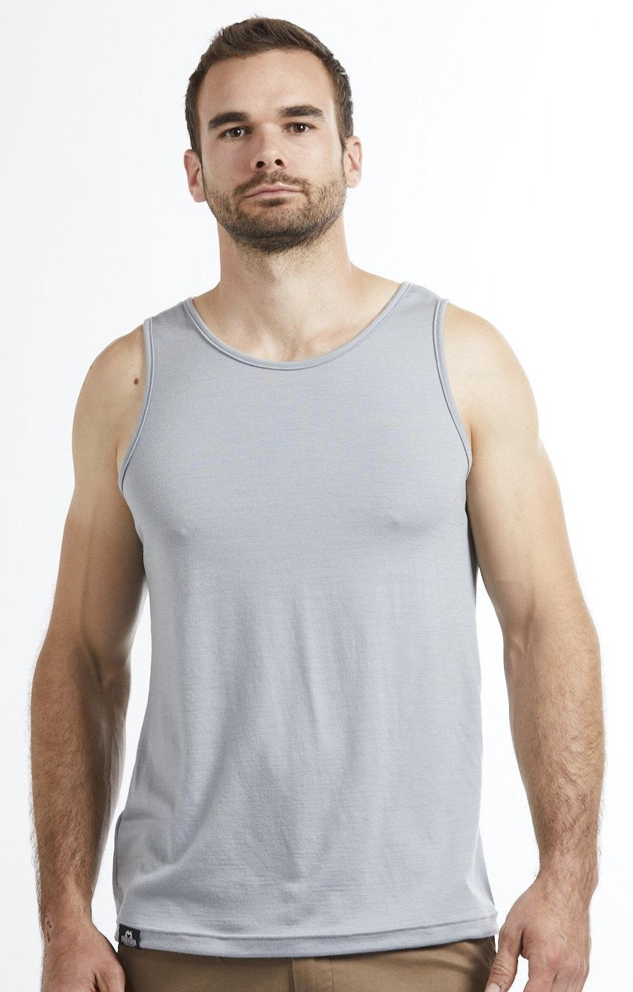 Mens Merino Wool tank top