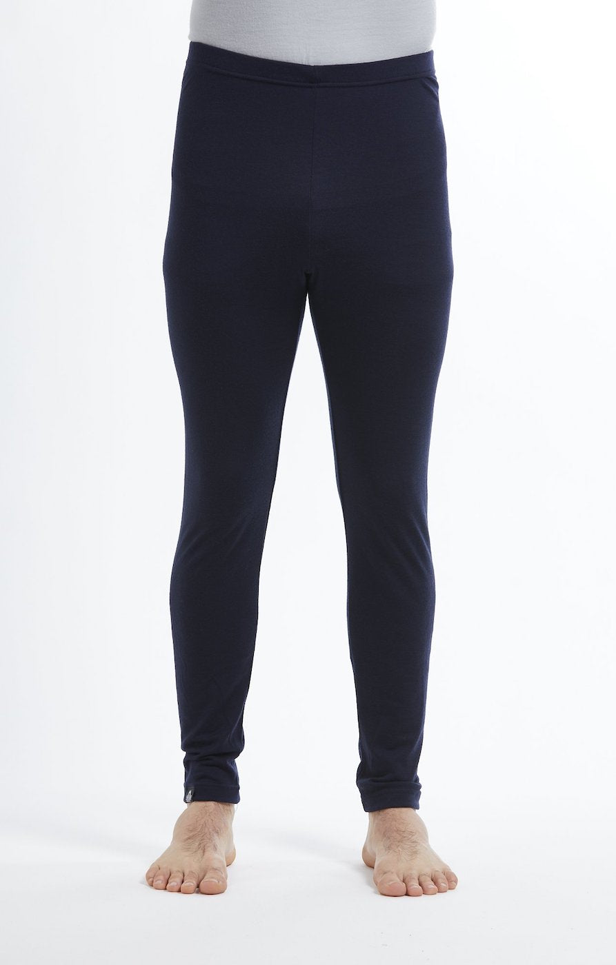 Base Layer Leggings | Navy | True Fleece New Zealand
