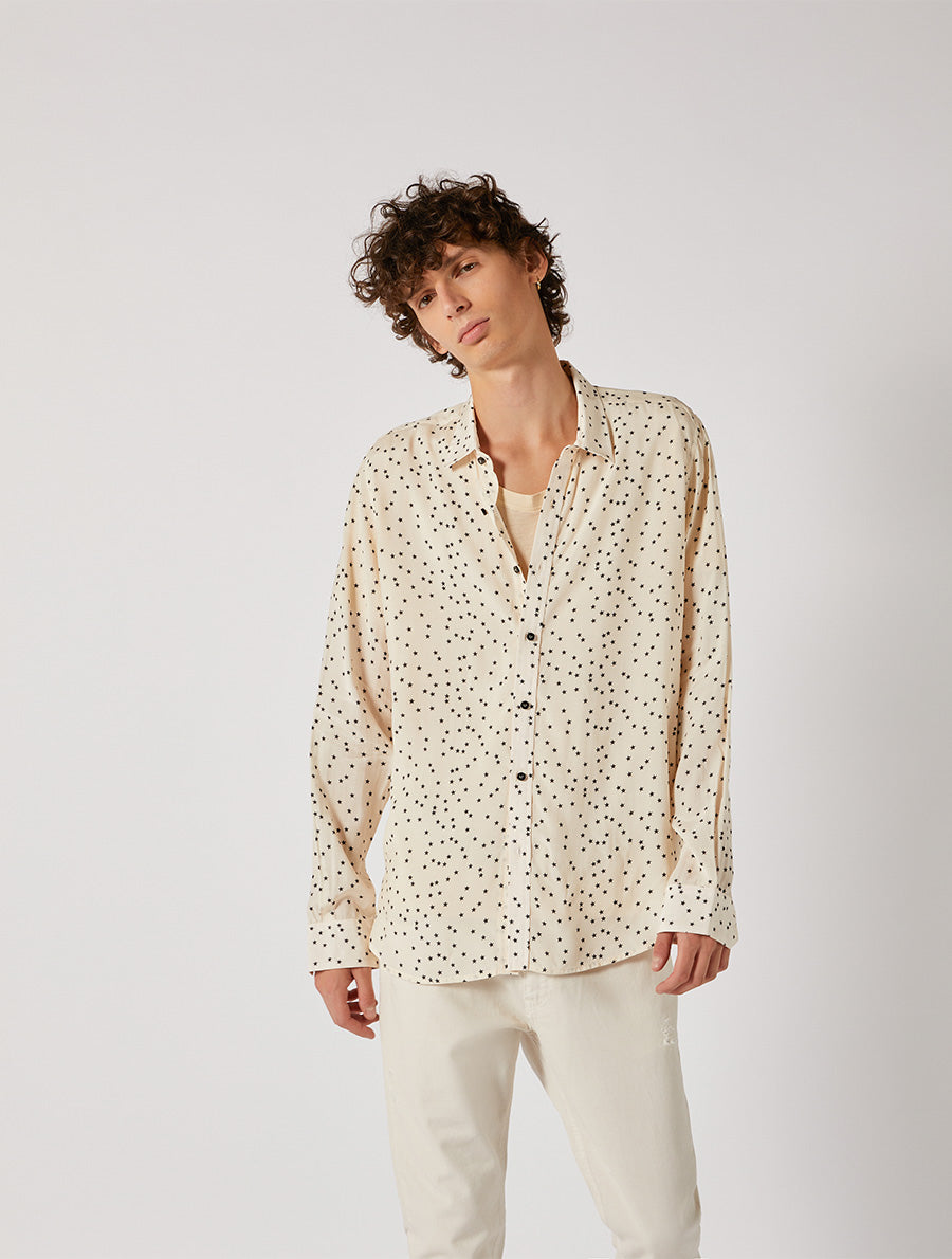 STARS PRINT SHIRT REGULAR FIT