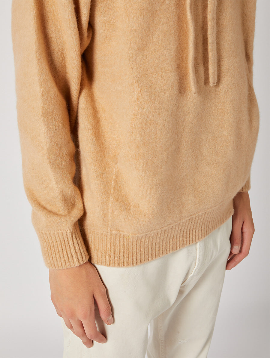 SOFT CACHEMIRE HOODIE RELAXED FIT
