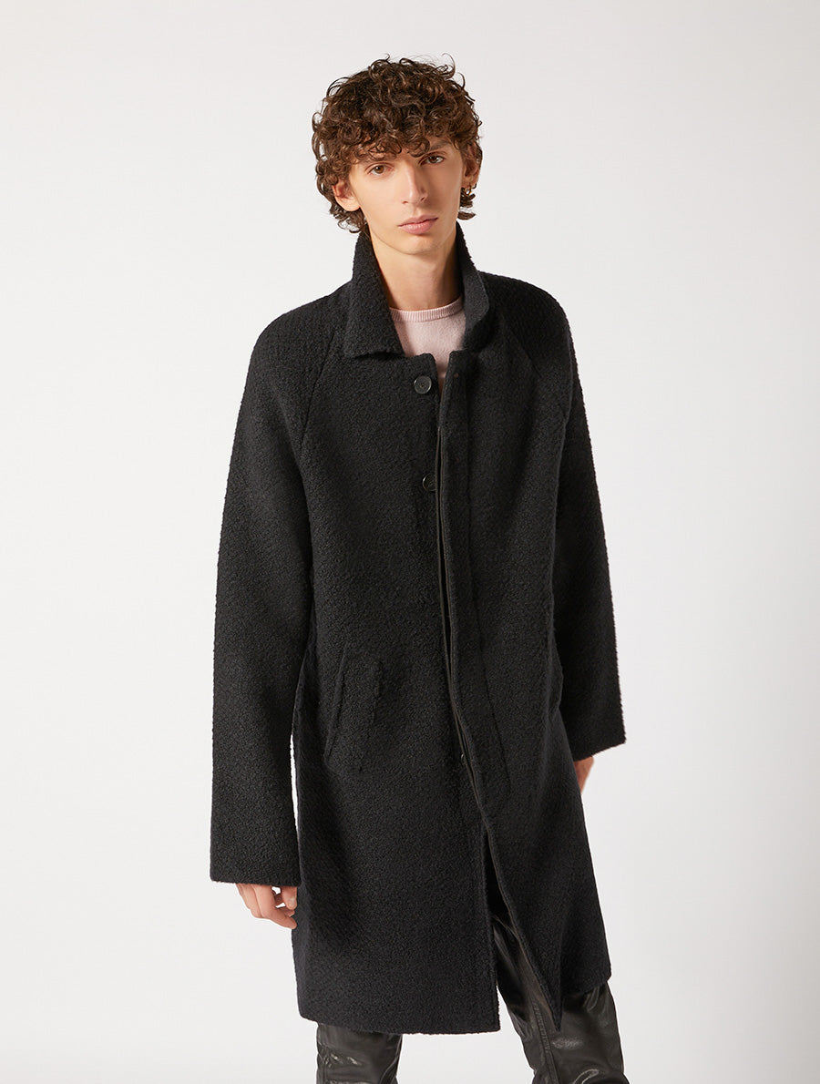 KNITWEAR COAT RELAXED FIT