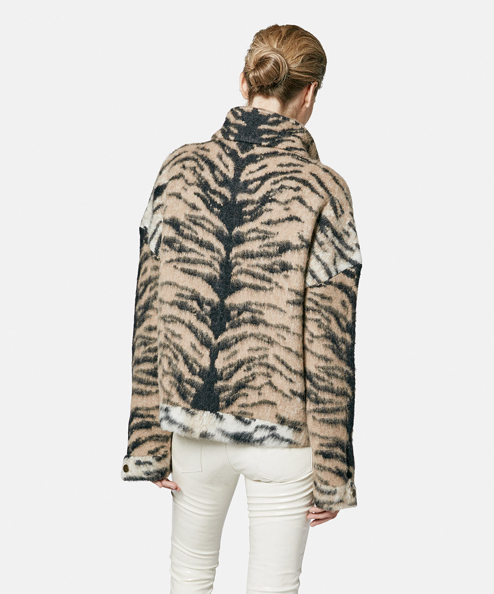 Brush Jeans Tiger Jacket Natural