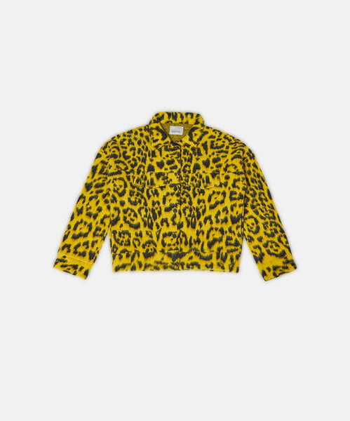 Brush Macula Jeans Jacket Yellow