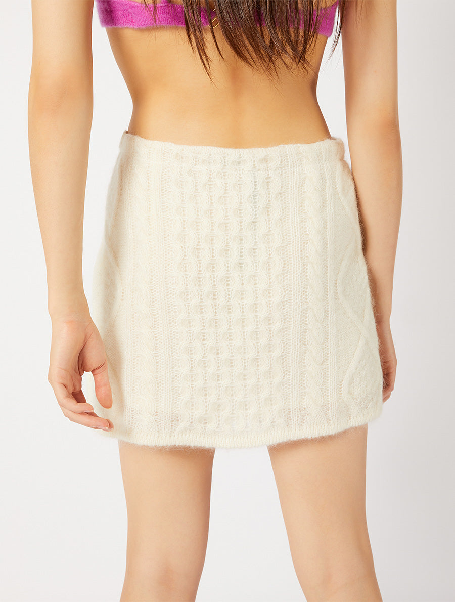 MINI ARAN SKIRT