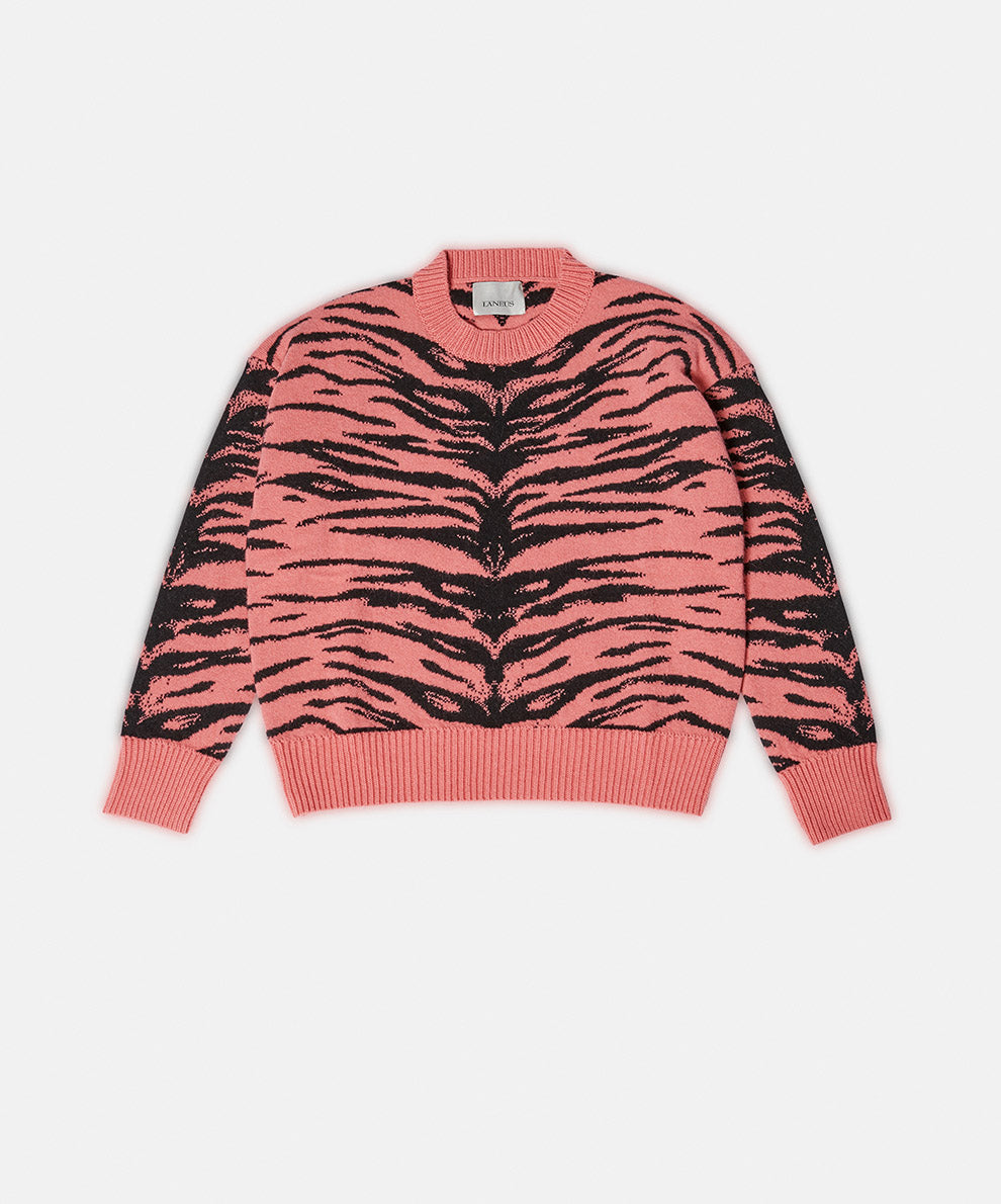 Tiger Neck Pink and Black