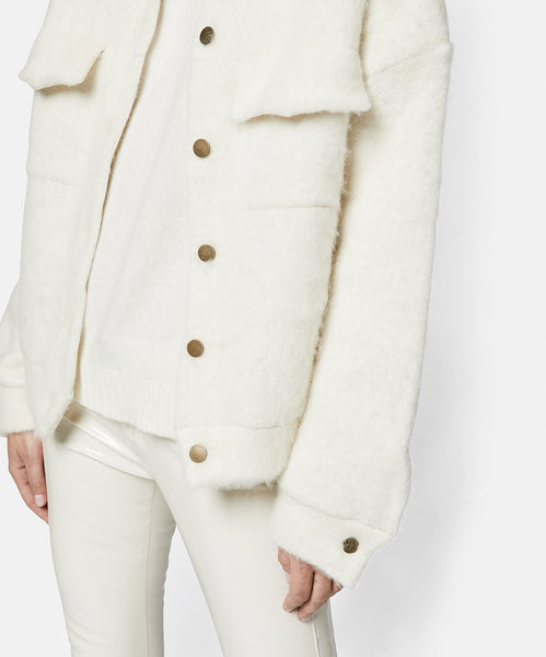 Brush Jeans Jacket Cream