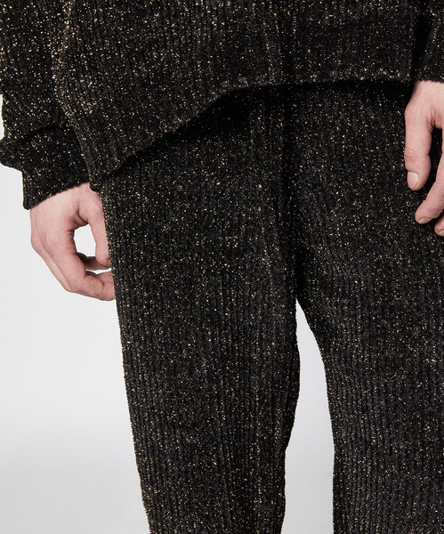 Lurex Chenille Trousers