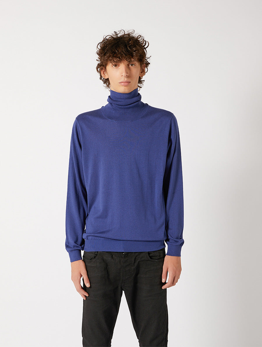SILK CASHMERE TURTLENECK REGULAR FIT