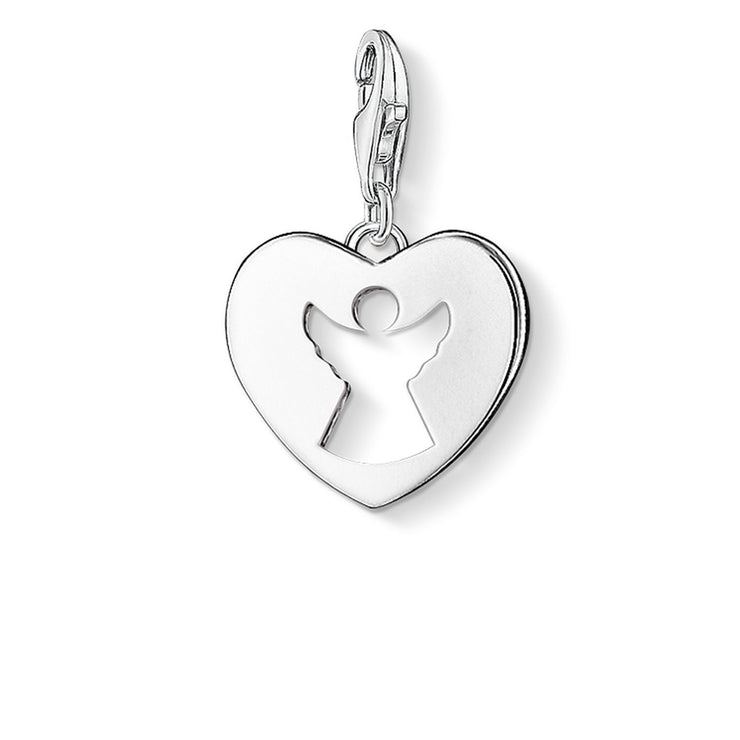 "Thomas Sabo Charm Pendant ""Guardian Angel Heart"""