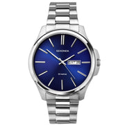 Sekonda Men's Classic Stainless Steel Bracelet Watch