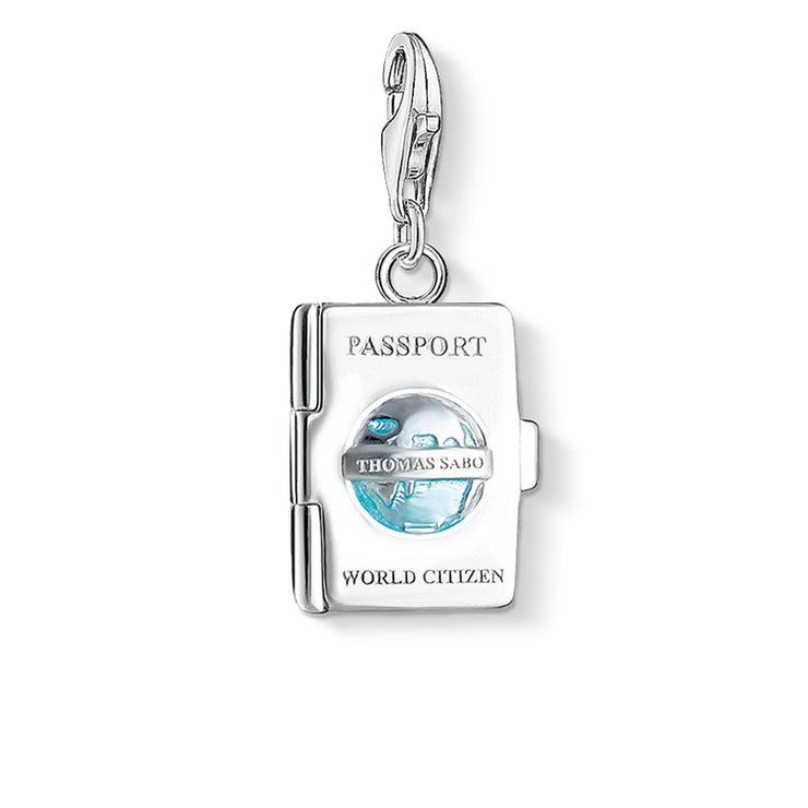 "Thomas Sabo Charm Pendant ""Passport"""