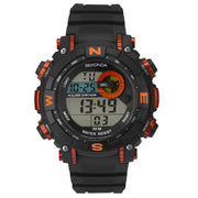 Sekonda Men's Black Strap Digital Sports Watch