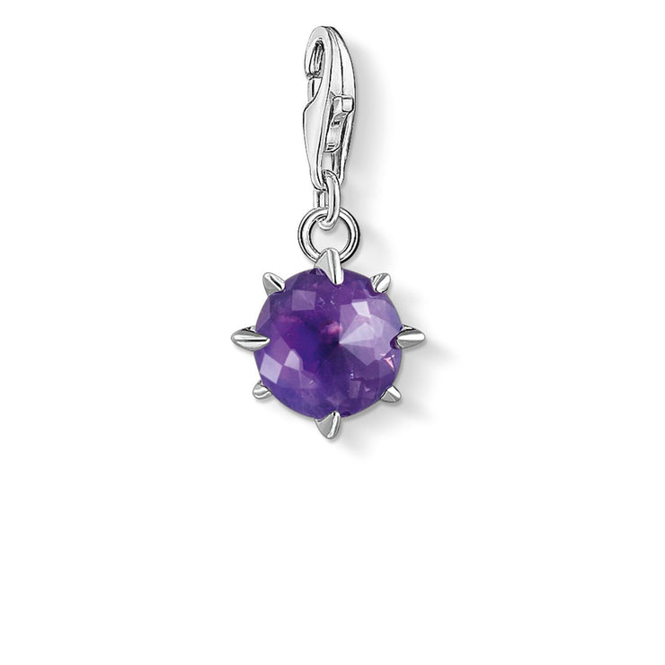 Thomas Sabo Charm Pendant Birth Stone February