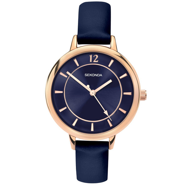 Sekonda Editions Dark Blue Strap Watch