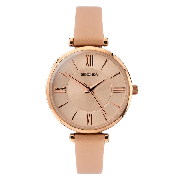 Sekonda Editions Rose Gold Plated Watch