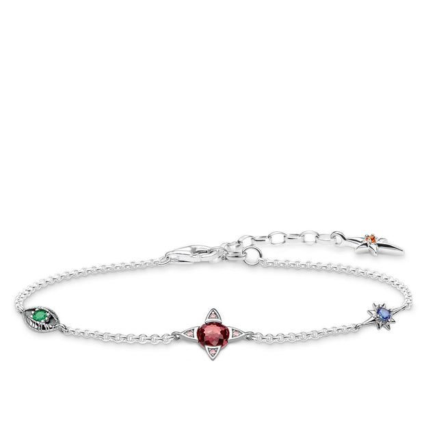 Thomas Sabo Bracelet Small Lucky Charms, Silver
