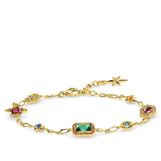 Thomas Sabo Bracelet Lucky Charms, Gold