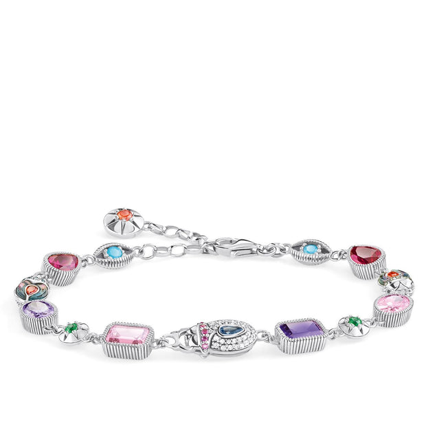 Thomas Sabo Bracelet Large Lucky Charms, Silver