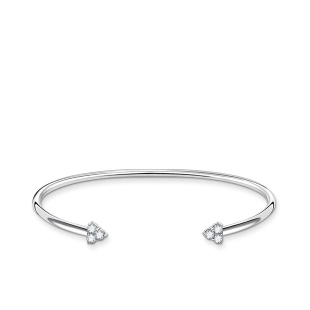 Thomas Sabo Bangle White Stones