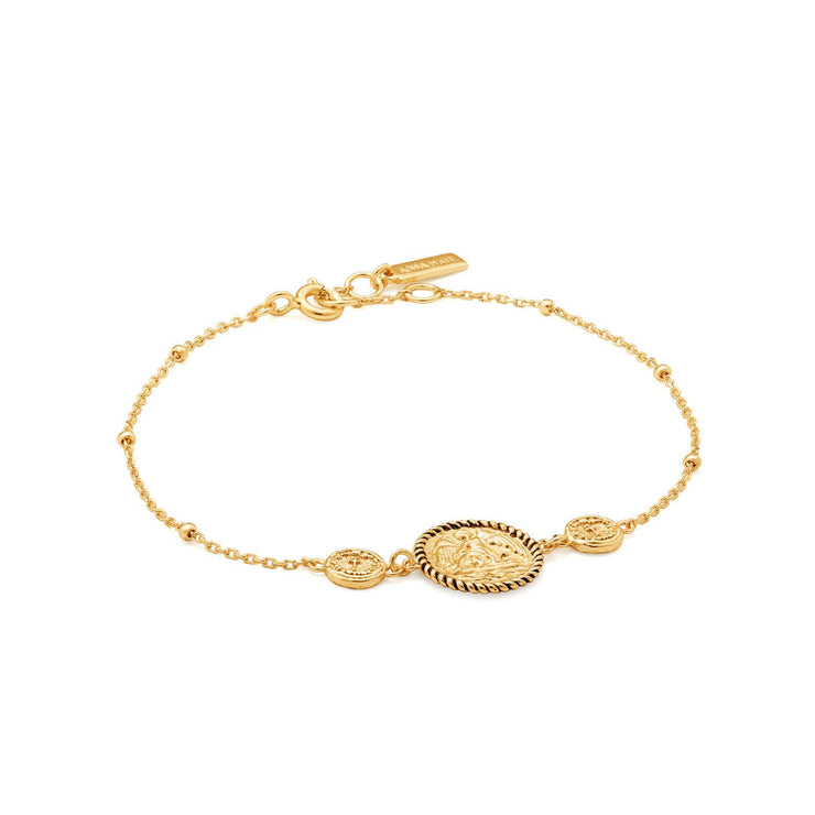 Ania Haie Winged Goddess Bracelet  - Gold