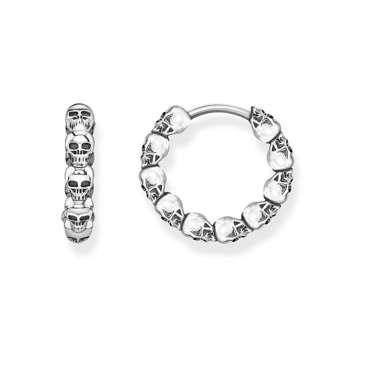 "Thomas Sabo Hoop Earrings ""Skulls"""