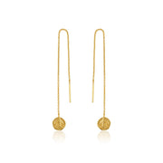 Ania Haie Deus Threader Earrings - Gold