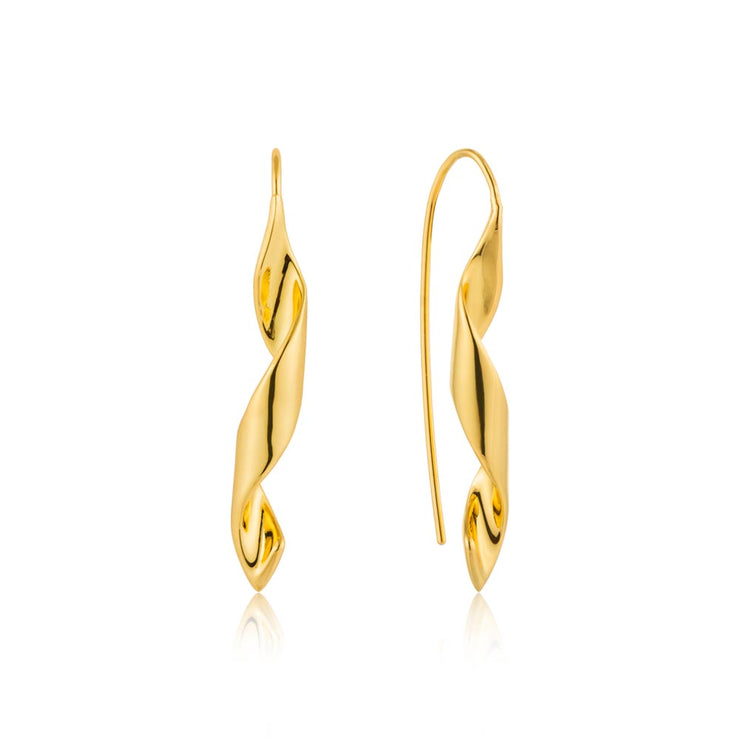 Ania Haie Helix Hook Earrings - Gold