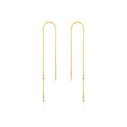 Ania Haie Glow Threader Earrings - Gold