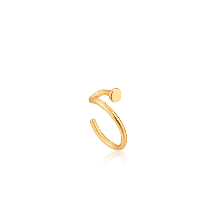 Ania Haie Dot Ear Cuff - Gold
