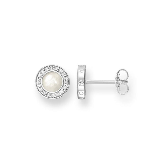 "Thomas Sabo Ear Studs ""Classic Pave Black"""