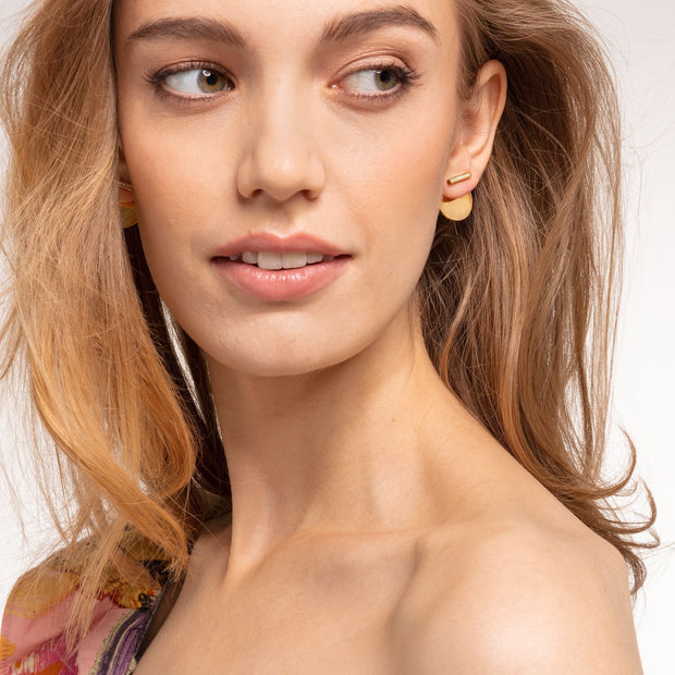 Thomas Sabo Ear Studs Together Disc Gold