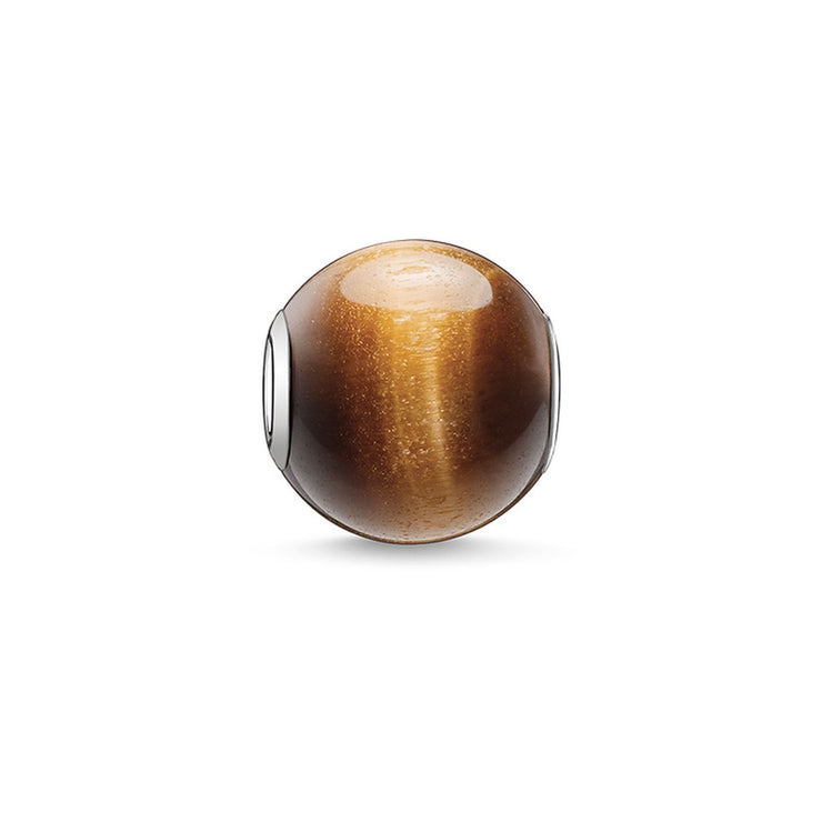 "Thomas Sabo Bead ""Brown"""