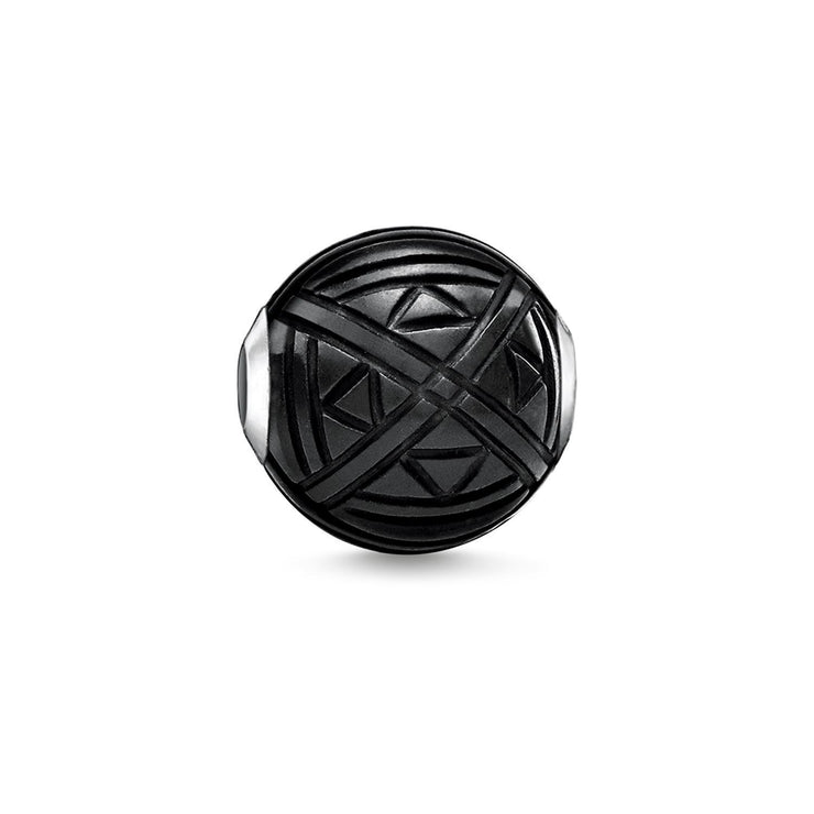 "Thomas Sabo Bead ""Ethno Black"""