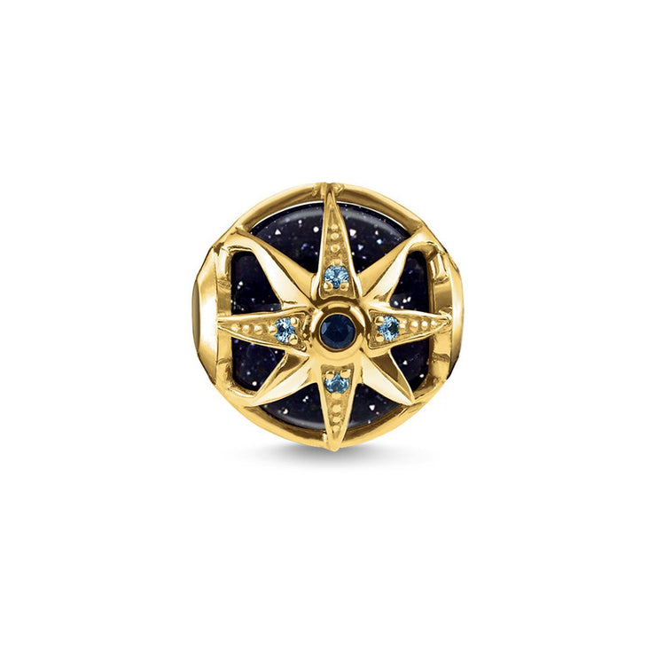 "Thomas Sabo Bead ""Royalty Star Blue"""
