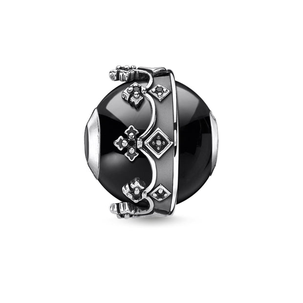 Thomas Sabo Bead Crown Black