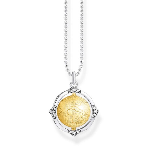 Thomas Sabo Necklace Globe | The Jewellery Boutique
