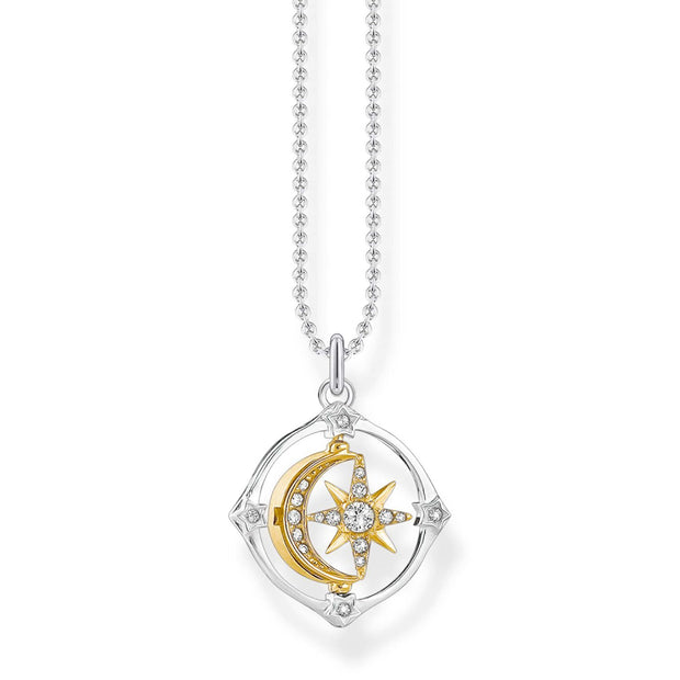 Thomas Sabo Necklace Moon & Star | The Jewellery Boutique