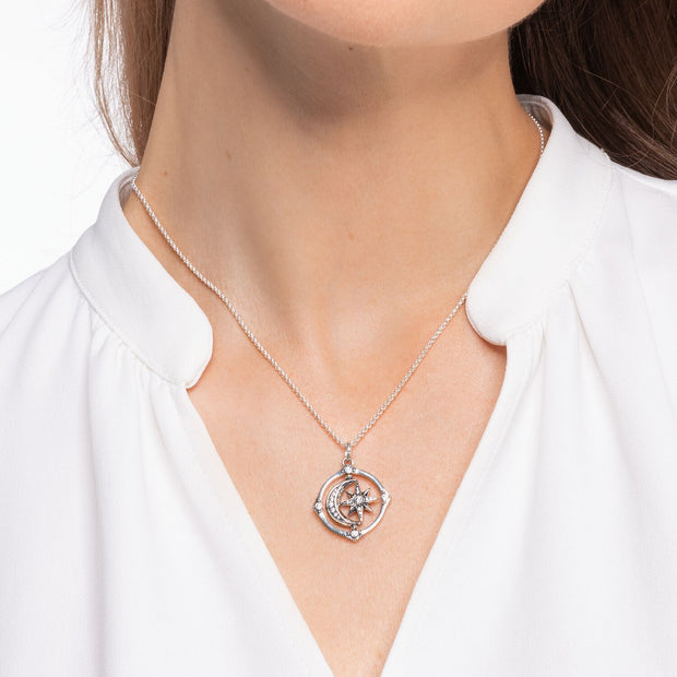 Thomas Sabo Necklace Star & Moon | The Jewellery Boutique