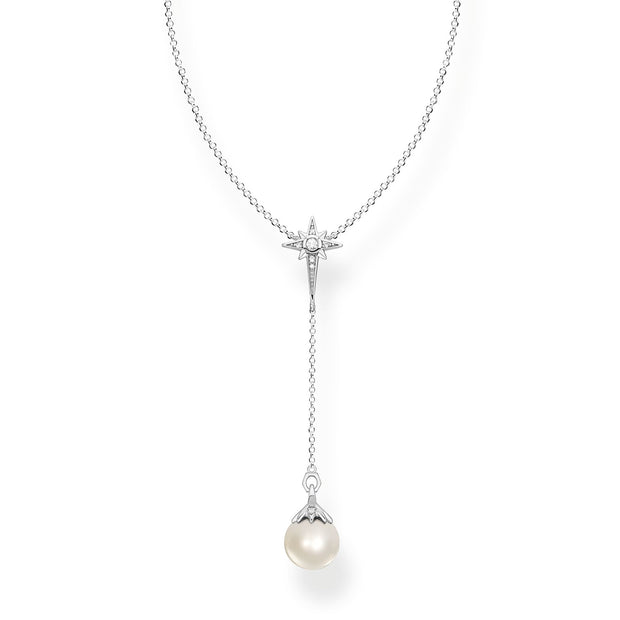 Thomas Sabo Necklace Pearl Star | The Jewellery Boutique