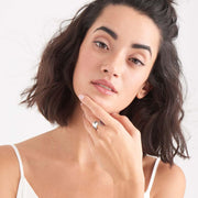 Twist Wide Adjustable Ring - Ania Haie Jewellery