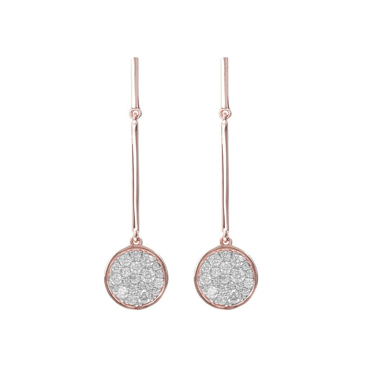 Bronzallure Micro Pave Earrings