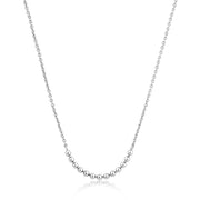 Ania Haie Modern Multiple Balls Necklace - Silver