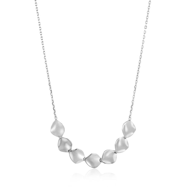 Ania Haie Crush Multiple Discs Necklace - Silver