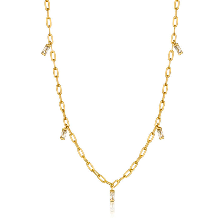 Ania Haie Glow Drop Necklace - Gold