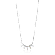 Ania Haie Glow Solid Bar Necklace - Silver