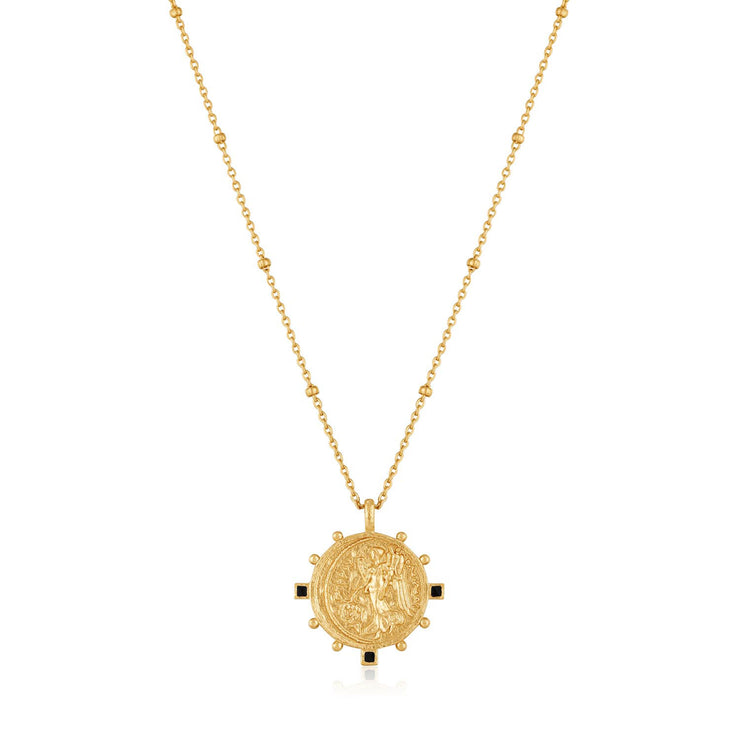 Ania Haie Victory Goddess Necklace  - Gold